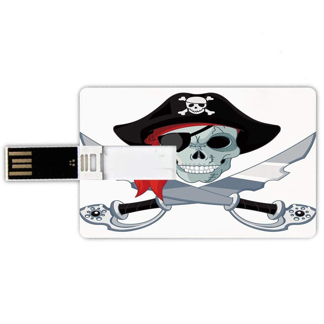 32GB Forma de tarjeta de crédito de unidades flash USB ...