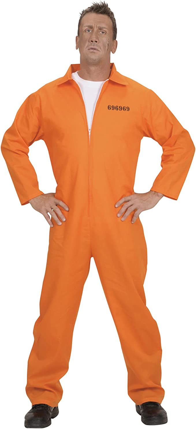 Amazon.com: County Jail Inmate Costume grande para Cárcel ...