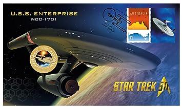 50 Jahre Star Trek Uss Enterprise Ncc 1701 1 Tuvalu 2016