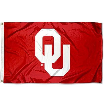 Ou Oklahoma Sooners University Large College Flag