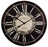 Imax Corporation Hotel Wall Clock in Black and White