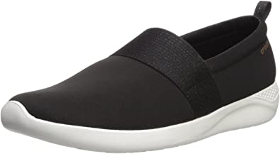 Crocs LiteRide Mary Jane Womens Ladies Cushioned Soft Slip On Shoes Size 4-8