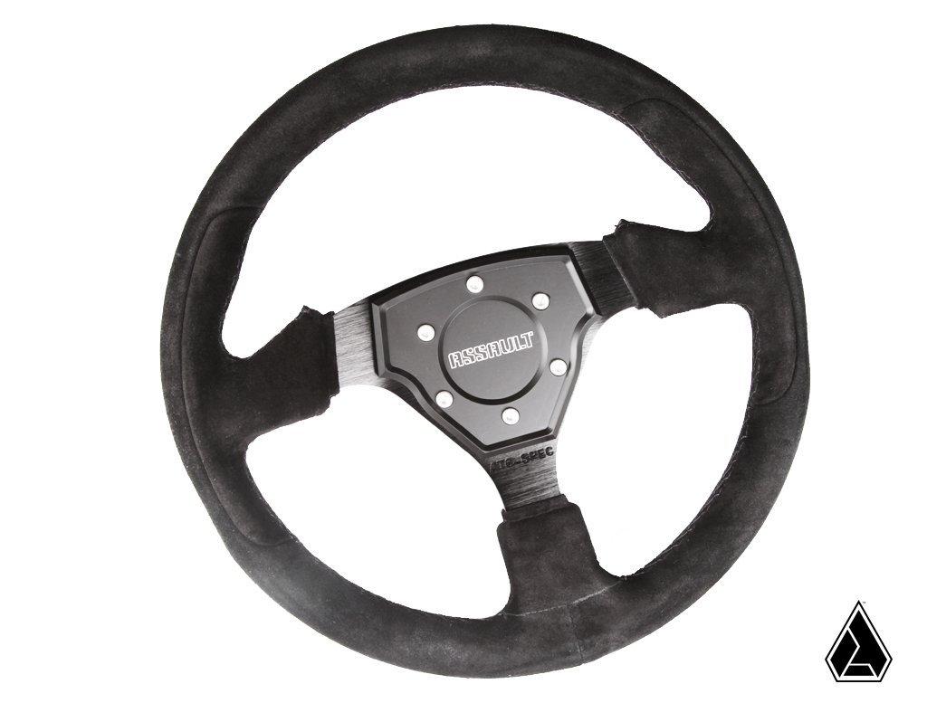 Assault Industries Suede Tomahawk Steering Wheel
