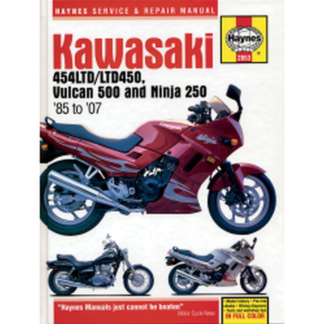 Kawasaki EN450 and 500 Twins Haynes Repair Manual (1986 - 2007)