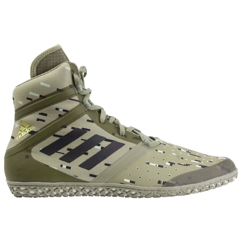 adidas Impact Wrestling Shoe - Mens B07BHYTKY9 10.5 D(M) US|Olive