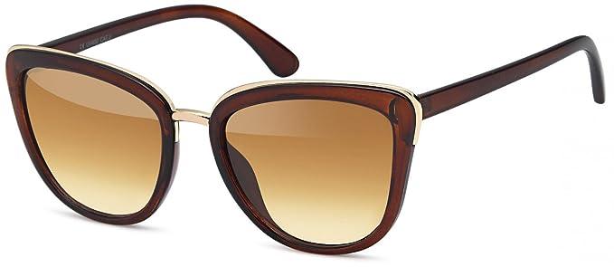 Kleidung & Accessoires Farb Brille Sonnenbrille GlÄser Rosa Rahmen Dunkelbraun Aus Kunststoff Eine GroßE Auswahl An Farben Und Designs