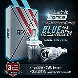 led 5202 fog lights 8000k - Stark APX 90W 9600LM LED Light 8000K Blue High Power Kit - Fog Light Bulbs - 5202