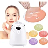 PowMax PF001 Collagen Facial Mask Maker,Smart DIY Natural Fruit Vegetable Face Mask Making Machine Automatic Personal Mask Making Machine