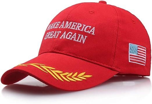 JEOSNDE Sombrero Bordado Impreso Cúpula roja Gorra de béisbol ...