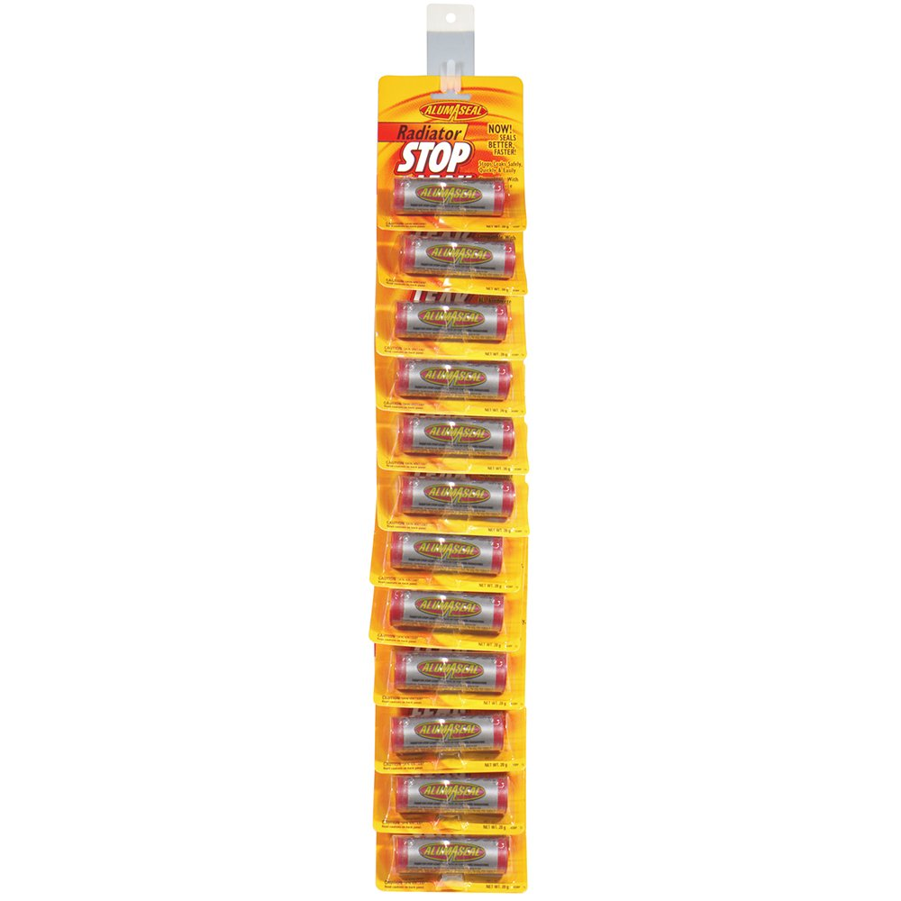 AlumAseal ASBP12S-12PK Radiator Sealer Blister Card, (Pack of 12)