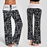 OWMEOT Women's Active Yoga Lounge Sweat Pants
