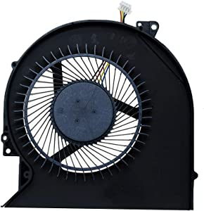 DREZUR CPU Cooling Fan Compatible for Dell Precision 3510 M3510 P48F Latitude E5570 Series Laptop Cooler