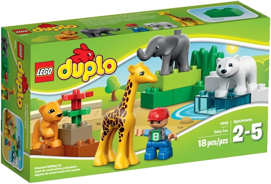 LEGO DUPLO Town 4962 Baby Zoo Building Set by LEGO: Amazon.es: Juguetes y juegos