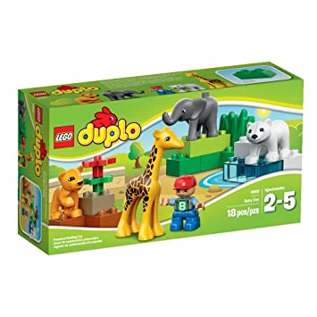 LEGO DUPLO Town Baby Zoo Building Set - 4962, Building Sets - Amazon ...