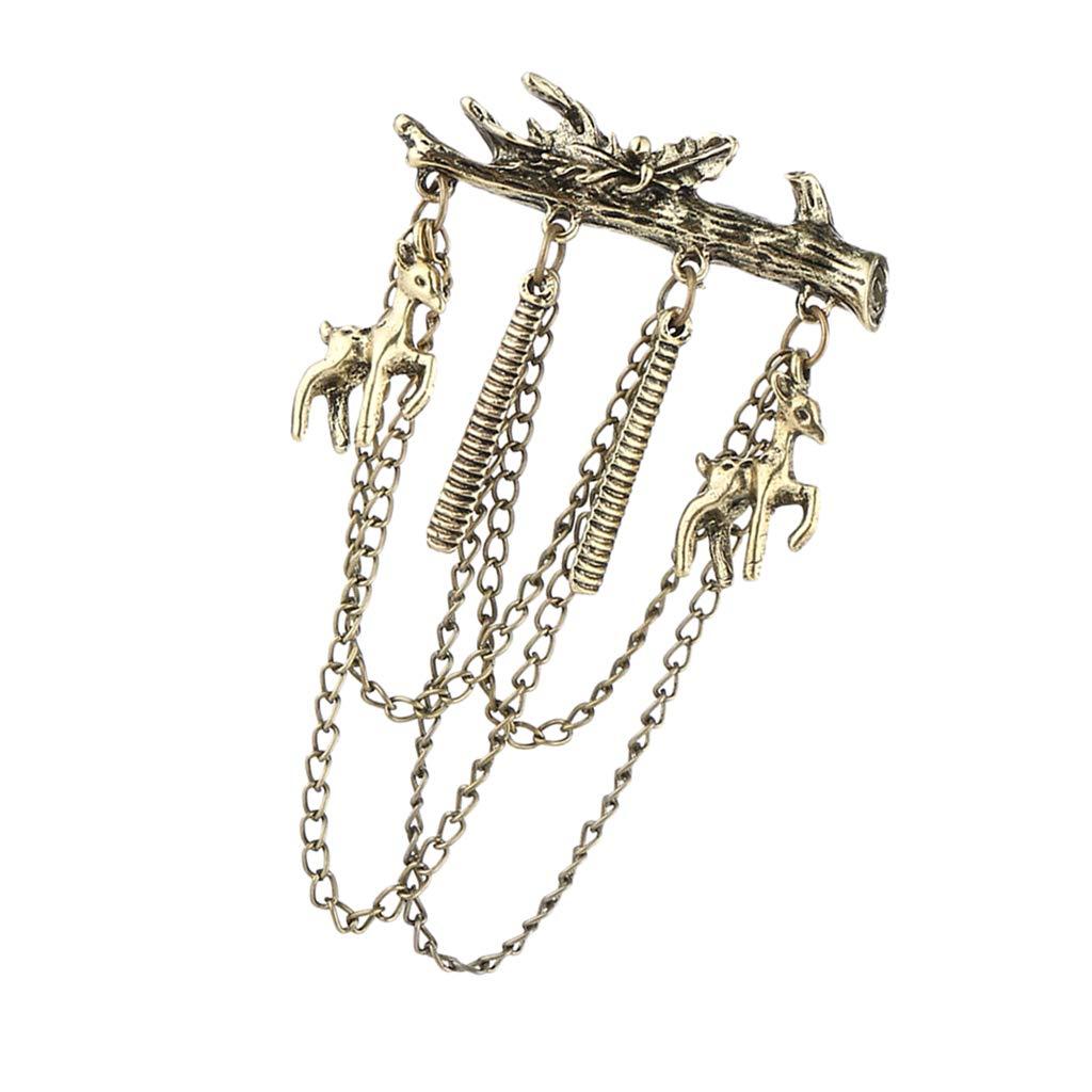 IPOTCH Broche pendante chaîne Broche Pin epingles