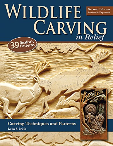 World Wildlife Patterns (Wildlife Carving in Relief, Second Edition Revised and Expanded: Carving Techniques and Patterns)