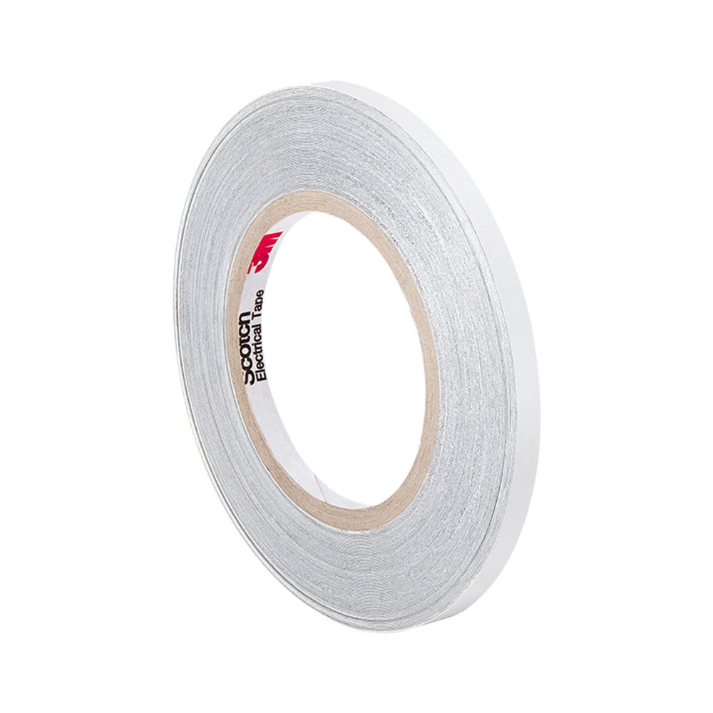 5 yd Length 3 Width 3M 3-5-CN3490 Gray Non-Woven Conductive Fabric Tape Roll