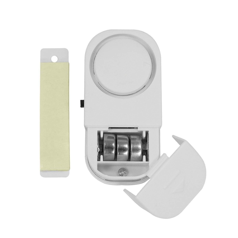 Montagematerial Batterien lauter 90dB Alarmton inkl G/&M 4038732766471 T/ür-// Fensteralarm