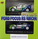 1/64 フォード フォーカス RS WRC06 Aセット(2台セット) 「ラリーカーコレクション」 パートナーショップ限定