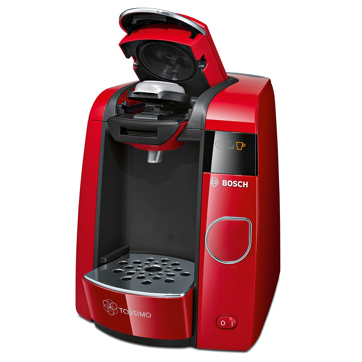 Bosch TAS4503 Tassimo Joy - Cafetera de cápsulas, 1300 W, 1.4 l, color rojo: Amazon.es: Hogar