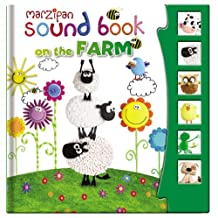 Children's Marzipan Hardback Sound Book On The Farm