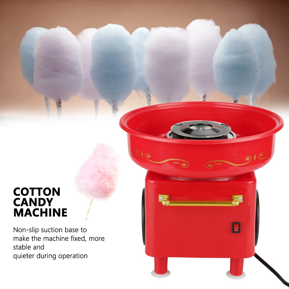 ZJchao Cotton Candy Machine Food Grade Safe Mini Electric Cotton Candy Maker for Kids (110V US Plug) by ZJchao (Image #3)
