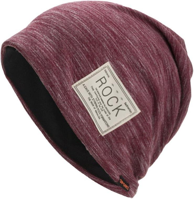 ZOMUSAR Winter Warm Baggy Original Beanie Cap Warm and Durable Black Soft Knit Beanie Hat