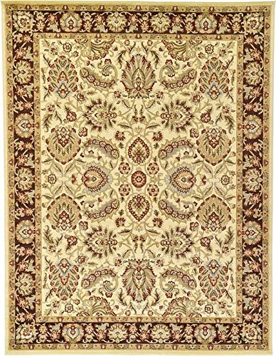 Unique Loom Agra Collection Red -  - runner-rugs, entryway-furniture-decor, entryway-laundry-room - 6169xZeE%2BWL -