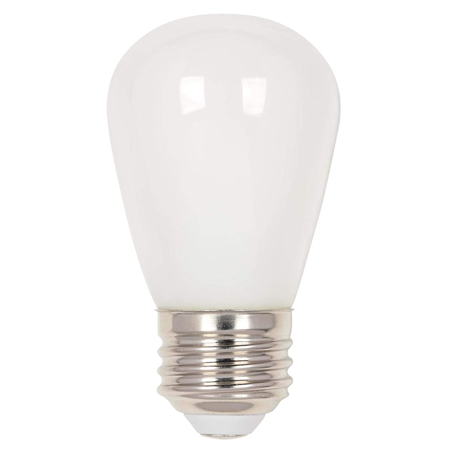 Westinghouse Lighting 5511500 1.2 (15-Watt Equivalent) S14 Frosted, E26 (Medium) Base LED Light Bulb,
