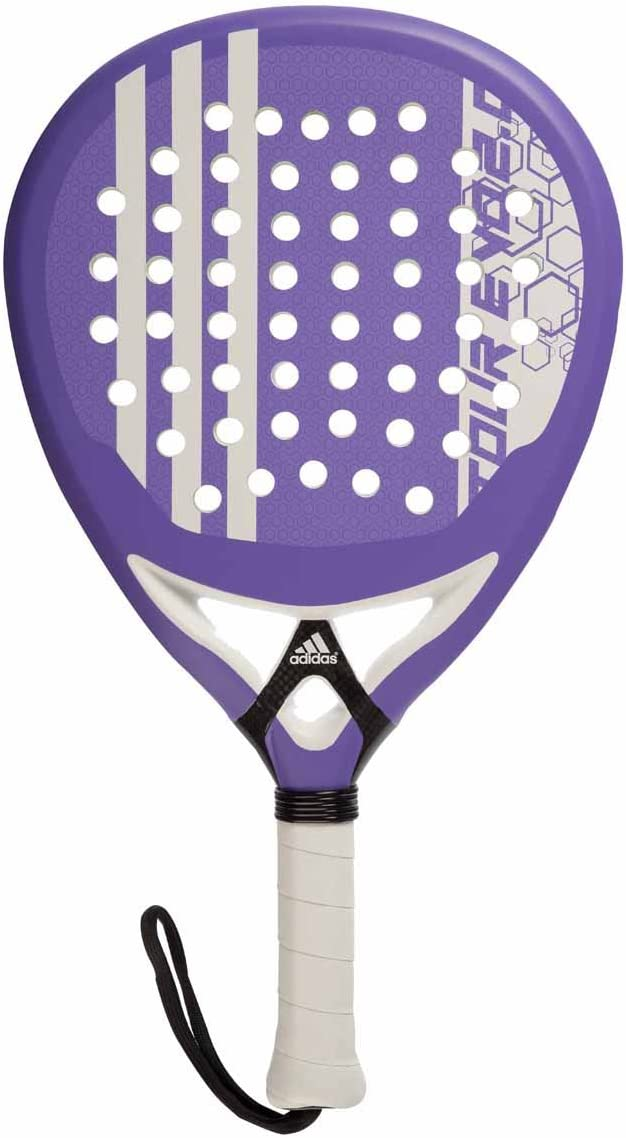 Pala Padel adidas Power Precision Tour EVO 2.0 Purpura: Amazon.es ...