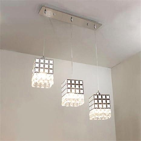 YLTT moderno de luz colgantes de cristal para lámparas ...