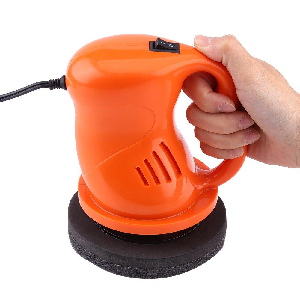 Orange 12V 40W Electric Car Polisher Waxing Polishing Machine Kit Automation Cleaning
