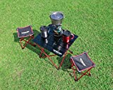 Captain Stagg (Captain STAG) Trekker duralumin roll Table Black UC-518