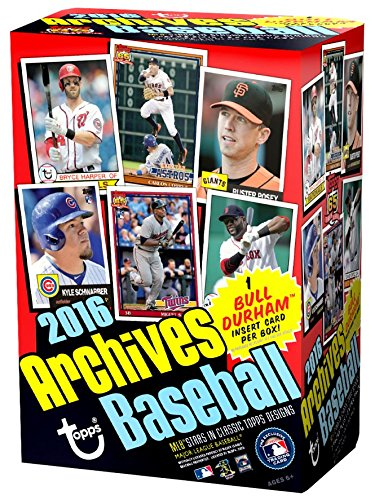 Amazoncom 2016 Topps Archives Baseball Value Box This Blaster