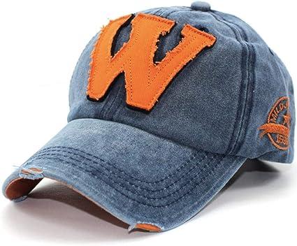 EDOTON Gorras de Béisbol para Hombre Mujer Letra W Bordada ...