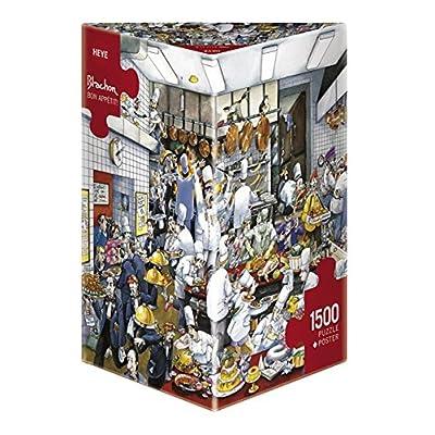 Heye Bon Appetit 1500-Piece Puzzle: Toys & Games