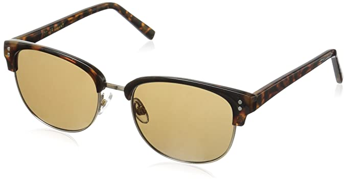 c283ea9819 Amazon.com: Foster Grant Women's Delaney Round Sunglasses, Tortoise ...