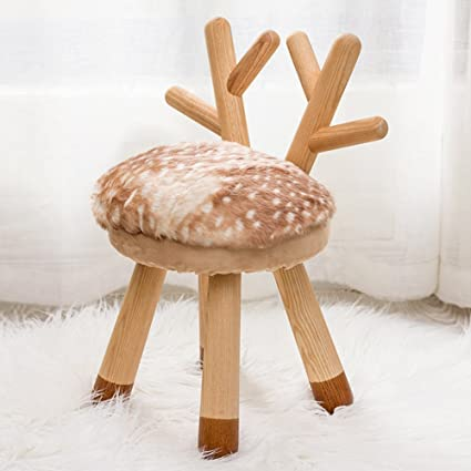 Furniture Lower Price with Nordic Solid Wood Childrens Gift Stool Small Wooden Bench Childrens Stool Small Bench Stool Home Cute Small Stool