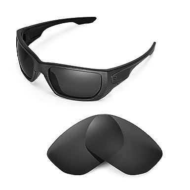 56afda58963 Walleva Replacement Lenses for Oakley Style Switch Sunglasses - Multiple  Options (Black - Polirazed)