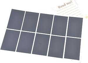 Eathtek Replacement Touchpad Sticker 10pcs/Set for Lenovo IBM Thinkpad T410 T410I T410S T400S T420 T420I T420S T430 T430S T430I T510 T510I T520 W510 W520 L520 L510 L420 L412 L520 SL410K Series