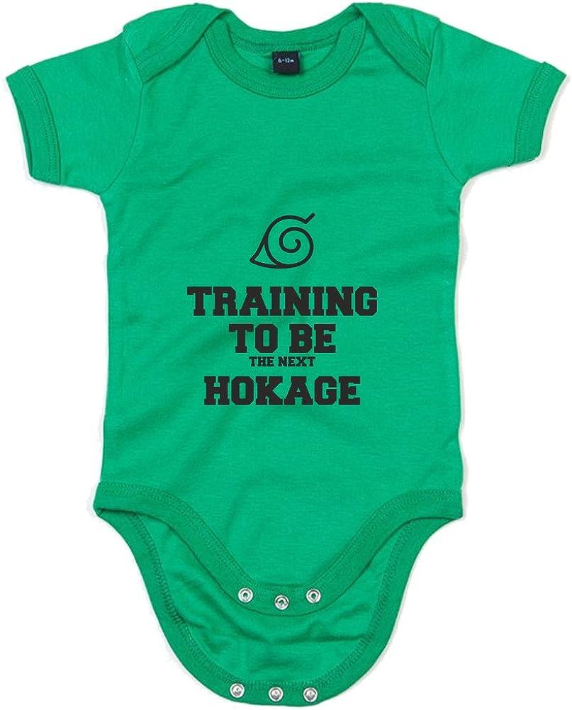Training to Be The Next Hokage Printed Baby Grow