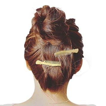 Women Alloy Hair Kirby Grips Bobby Bun Slides Pins U Clips  Hair Accessories