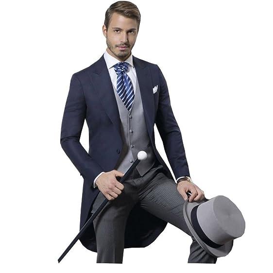 SweetFaterk Men\'s Suit Groom Modern Wedding Suit Formal Tuxedos at ...