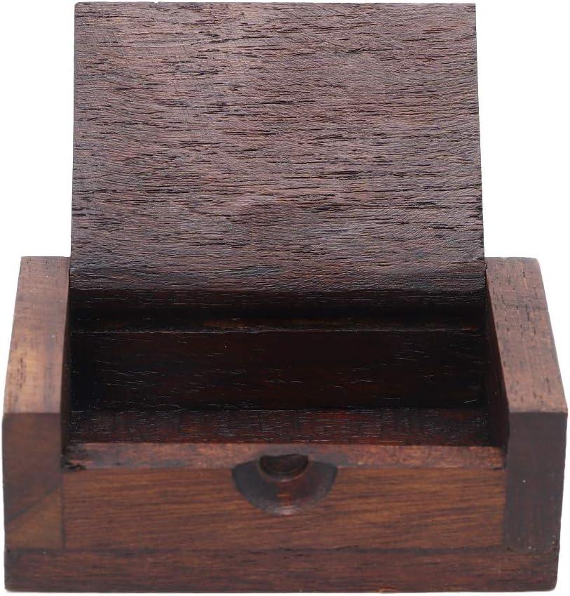 AUNMAS Mini Tasche Zahnstocher Halter Vintage tragbare Zahnstocher Aufbewahrungsbox Fall f/ür Home Hotel verwenden antike Zahnstocherspender Home Decor