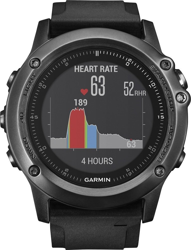 Garmin Fenix 3 HRトレーニングWatch One Size Gray Performer B01N9XLQ7S