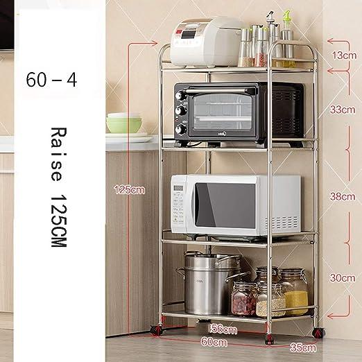 HUO,Estantes de cocina Cocina, microondas, estantes, piso ...