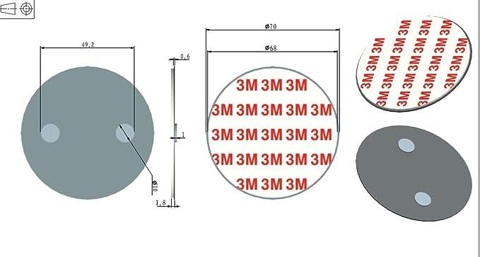 10 Pieza marwotec Detector de Humo para detectores de Humo, Soporte magnético: Amazon.es: Bricolaje y herramientas
