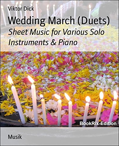 Alto Cello (Wedding March (Duets): Sheet Music for Various Solo Instruments & Piano)