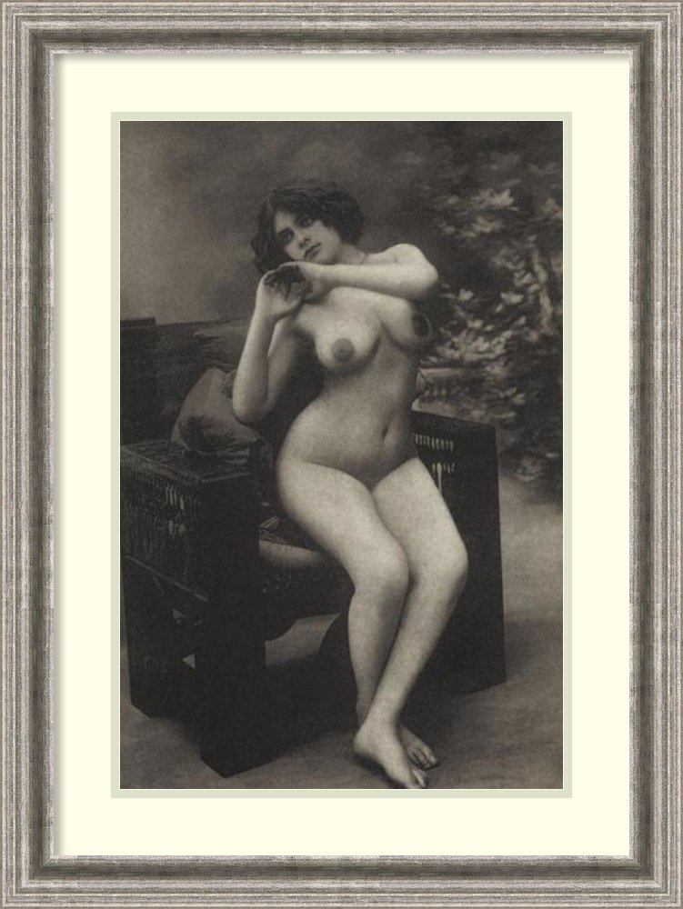 Framed Art Print 'Health and Youth' by Vintage Nudes