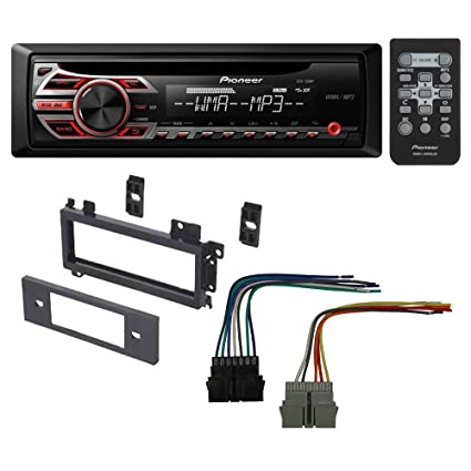 Sensational Amazon Com Pioneer Car Cd Stereo Receiver Dash Install Mounting Kit Wiring 101 Eattedownsetwise Assnl
